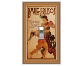 0370X - Scheherazade Switchplate - Mrs Butler  (Choose size/price from dropdown)