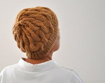 Mustard Knit Hat Winter Hat Cloche Hat Winter Accessories Knit Fashion Trendy