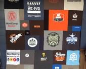 WordCamp tshirt and fleec...