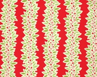 Free Spirit Heather Bailey - GINGER SNAP-GARLAND-Red Pwhb064 -  1 Yard Cut