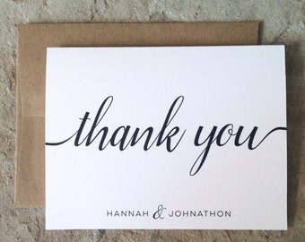 Custom thank you cards with picture