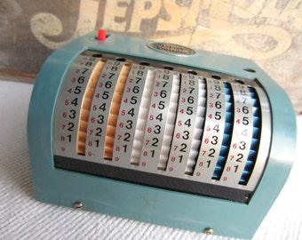 Vintage 1960s Swift Adding Machine Old School Calculator