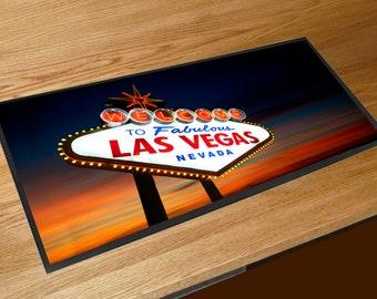 Las Vegas Nevada Bar runner beer mat