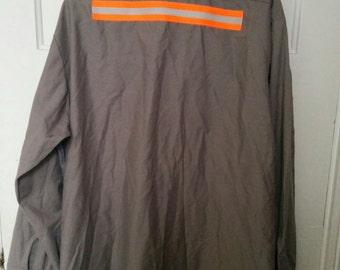 men's safety shirt xxl normcore work shirt reflective uniform