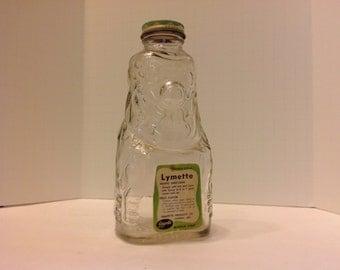 Grapette Clown Bottle with Lymette Label and Clown Bank Lid