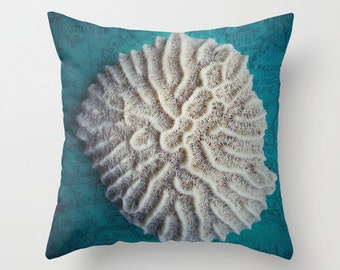 Shell Pillow Cover 16 x16 ***sale***