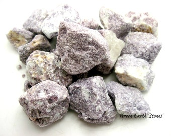 One Lepidolite Natural Stone, Feng Shui, Crystal Healing, Wire Wrapping, Artisan, Stone, Rocks, Reiki, Rock Hound,
