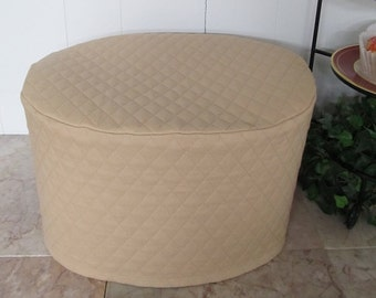 Tan Oval Crock Pot Cover Ready To Ship