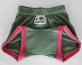 Girls Training Pants (OLIVE & PINK)