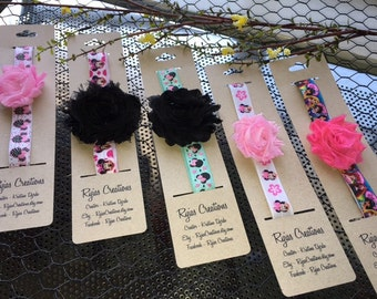 Disney Headbands with Flower - Design your own