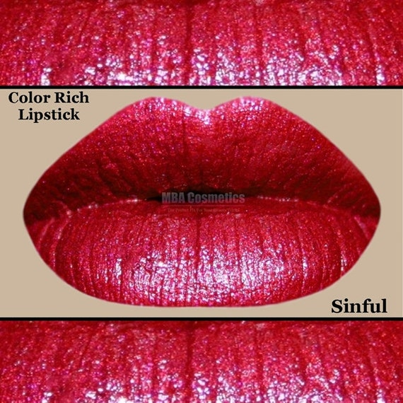 Red Lipstick- Color Rich Lipstick-Sinful