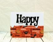 Halloween Card, Halloween Cards, Happy Halloween Card, Cute Halloween Card, Kids Halloween Card, Childs Halloween Card, Non Scary Halloween