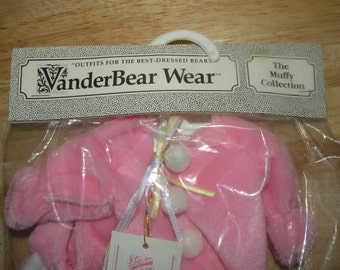 1989 MUFFY Vanderbear Bunny outfit