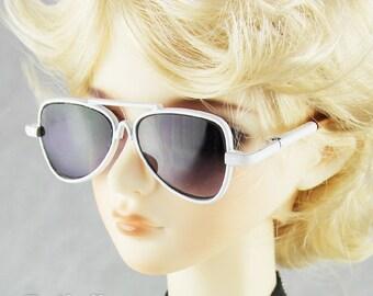 New fashion Dolls Sun Glasses fit 1/3 BJD SD Super Dollfie white