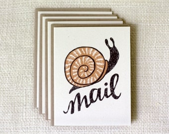 Boxed Note Card Set - Snail Mail