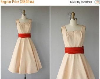 25% OFF SALE... Vintage 1950s Dress | 50s Party Dress | 50s Dress | Midcentury Dress | Vintage 50s Dress