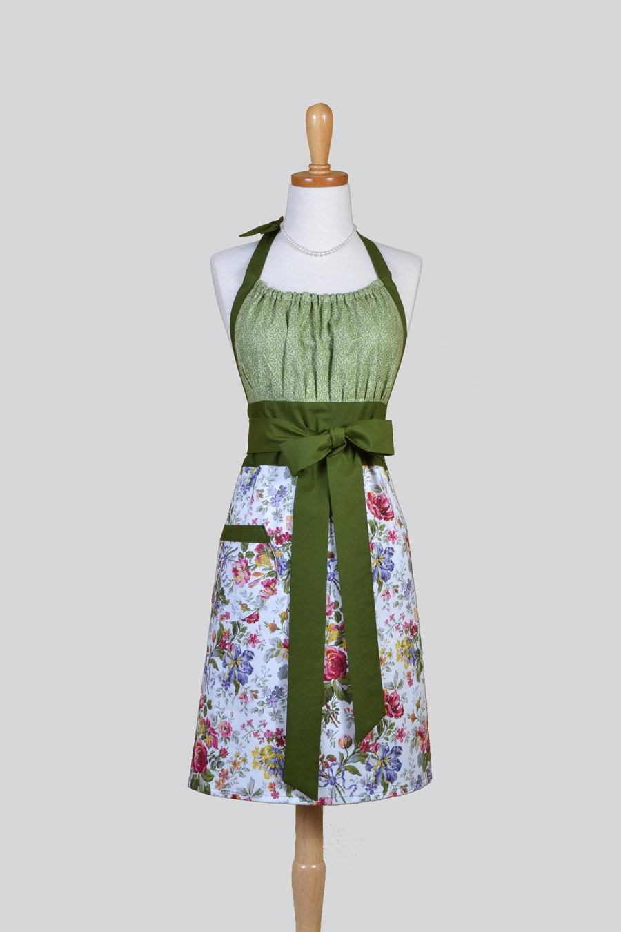 Cute Kitsch Retro Aprons Full Chef Vintage Kitchen Womans