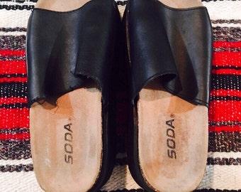 Vintage Soda Platform Sandals