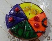 50% OFF - ASSORTED CAKES - 8 Polymer Clay Cake Beads