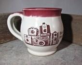 Walter Mitty Camera Mug - by Blaine Atwood - item 3564