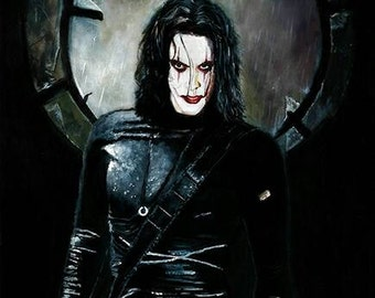 The Crow Limited Edition Art Print
