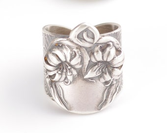 Antique Alvin Lily Pattern Spoon Ring