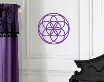 Seed of Life Sacred Geometry WALL ART New Age Decal