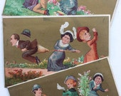 Victorian Trading Cards Antique