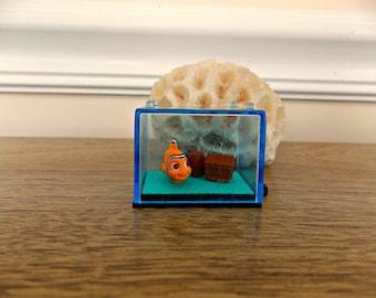 Finding Nemo, Nemo, Clown Fish, Disney, Supplies, Craft Supplies, Ocean, Fish, Miniature, Miniature Fish Tank, Doll, Pixar, Salt Water Fish