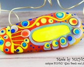 Art Glass - Lampwork -  1 focal bead by Michou P. Anderson