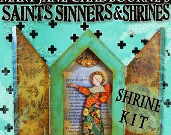 Workshop POINTED SHRINE Kit - Saints, Sinners & Shrines - Alternatives to Honoring the Divine Within