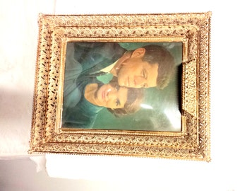 The Kennedys in a Gilded Frame, Mid Century Kitsch, Camelot Reframed