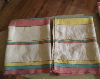 Set of Vintage Kitchen Towels   (Free shipping)