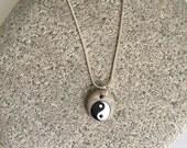 Yin Yang Rock Necklace