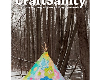 CraftSanity Magazine Issue 10 Print Edition