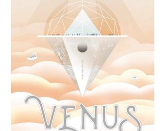 One NASA Planet Poster - Venus