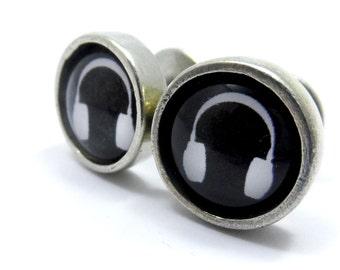 Headphone Cufflinks