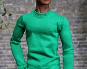 "Fitted Tee Long Sleeve - fit 12"" Fashion Royalty HOMME Dolls - several colors available!"