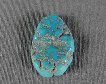 Turquoise Cabochon Sleeping Beauty Nugget