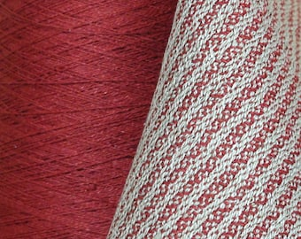 1000 grams in 1 of 3 Beautiful WARM TONE Colors (Agate, Sunshine, OR Neutral) 16/2 Linen Yarn 2 lb 4 oz, 5,195 yards