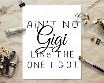 Gigi Decal Etsy