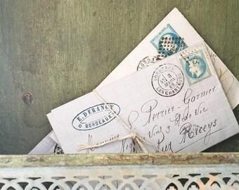 Vintage french letter bundle