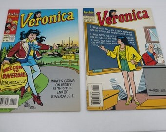 1995 Comic Veronica #42 #43 From Archie Comics