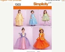 Girls Multi sz 3-6 Tule Princess Costume Patterns--UNCUT Multi Patterns-- 40-70% off Patterns n Books SALE