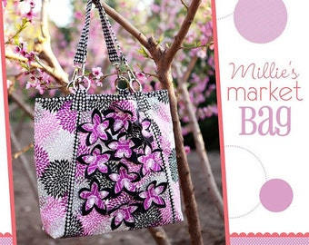 Mille's Market Bag Paper Patten by Izzy and Ivy Designs