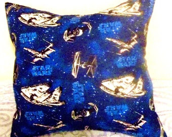 """STAR WARS PILLOW (one pillow), Decorative Pillow, 18"""" X 18"""" - Hand Crafted"""