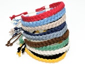 Adjustable Woven Sailor Bracelet 16 Colors