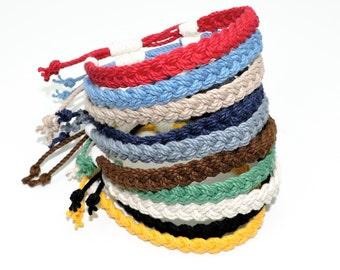Adjustable Woven Sailor Bracelet 16 Colors