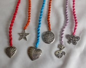 Macrame Bookmarks Set of 6 / Price Reduced