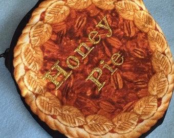 Pie Pouch Apple Pie Pouch Chocolate Pie Bag Honey Pie Cutie Pie Kitsch Pie Pouches